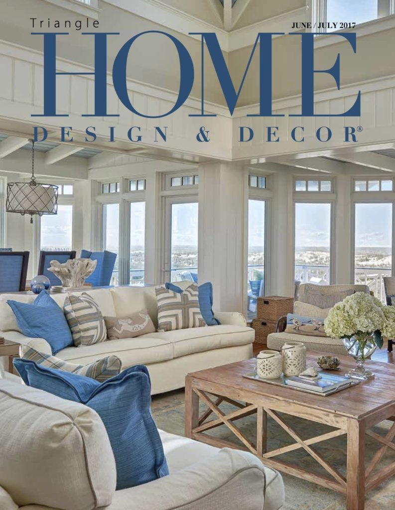 Our Latest Project, Coastal Calm, in Home Design and Decor Magazine ...